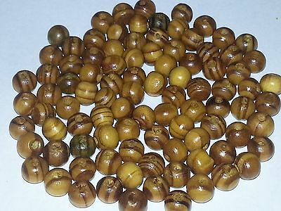 Wholesale 7-7.5MM Natural Burly Wood Round Spacer Loose Beads 100pcs. New