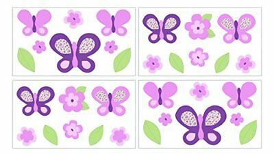 Cocalo Sugar Plum butterfly removable wall appliques