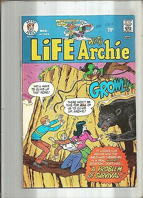 Life With Archie #143  Jughead * Reggie * Veronica * Betty  1974  Nice!!!