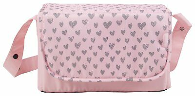 My Babiie Katie Piper Changing Bag - Pink Hearts. From the Argos Shop on ebay