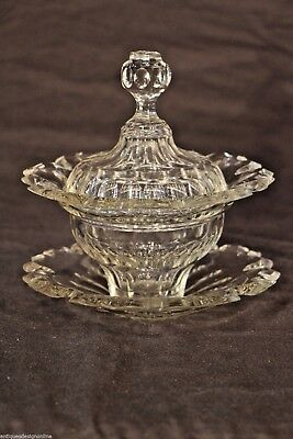 Georgian Regency antique sweets DISH bowl dish cover TAZZA 1830 original vase