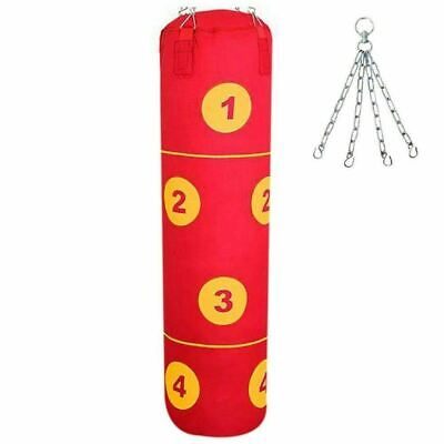 4ft Heavy Filled Punch Bag Boxing Muay Thai Kick Fight MMA Martial Arts