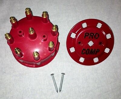 7000 and 8000 Series Male 90.2 Distributor Cap Red