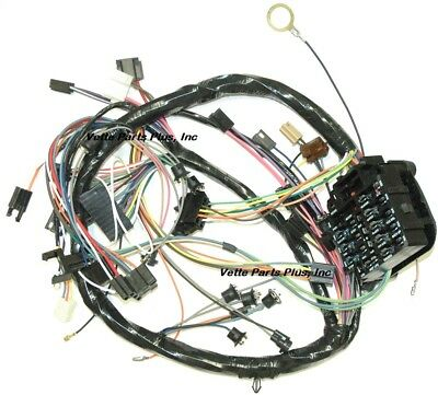 69 Chevelle Dash Wiring Harness with Factory Gauges, NEW