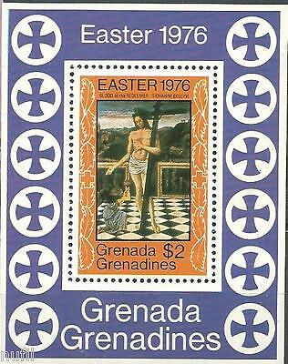 Grenada & The Grenadines scott # 173 MNH. Navidad / Christmas HB