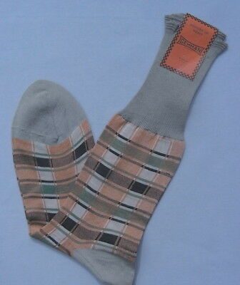 NWT NEW Vintage SWING 1950s GEHMAN Mens Socks - Size 11-1/2 - Free Ship in USA