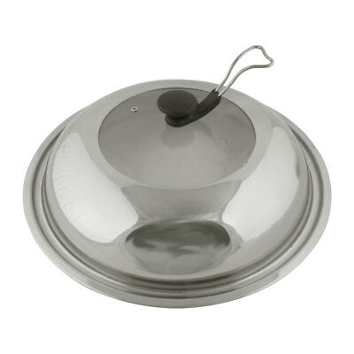 Restaurant Home Kitchen Stainless Steel Kitchenware Cooker Pot Frying Pan Lid Co
