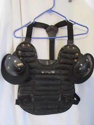 Vintage Umpire Or Catchers Equipment, Baseball  chest protector bb200-s  #7