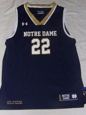 0abade6b894 NCAA Notre Dame Fighting Irish Under Armour Heatgear Youth Jersey Size XL  NWT