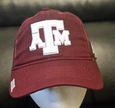 buy online 4d515 075e8 NCAA Texas A M Aggies Structured Hat Flex FItted YOUTH Adidas Cap FREE  SHIPPING