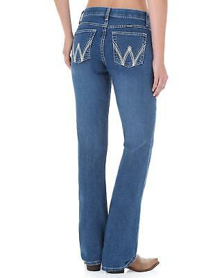WRANGLER Q-BABY with COOL VANTAGE tech COWGIRL BOOT CUT JEAN WCV20SB $62 MSRP