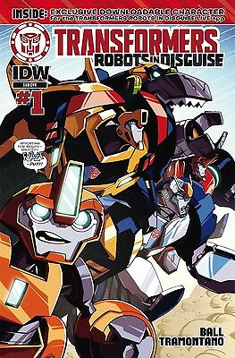 TRANSFORMERS ROBOTS IN DISGUISE ANIMATED #1, SUBSCRIPTION COVER, New, IDW (2015)