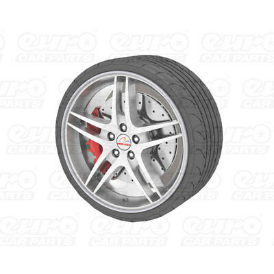 """Universal Alloy Wheel Protector Fits Wheels Up To 22"""" Prevents Kurb Marks Silver"""
