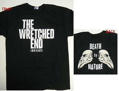 "Wretched End T-Shirt ""death By Nature"" - Neu - Size Xl"