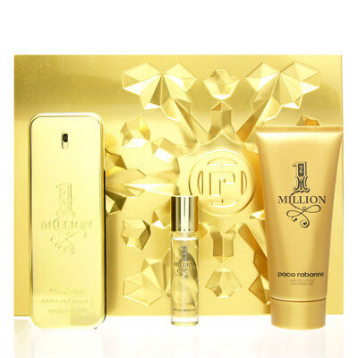 Paco Rabanne One 1 Million MEGA Set Eau de Toilette EDT 100 ml + 15ml + SG 100ml