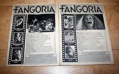 Fangoria 49 and 50 (2 issues)
