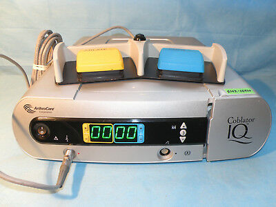 Arthrocare Coblator IQ System with Footswitch, model ES9000-01