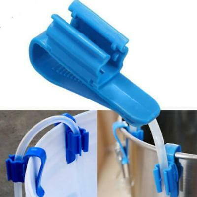 Home Brew Syphon Tube Clip Hose Flow Control Wine Beer Making Clamp Holder B