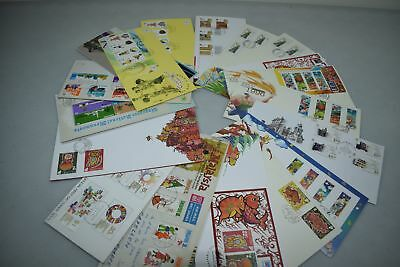 Singapore 1970s-1990s Stamp Collection of First Day covers FDCs