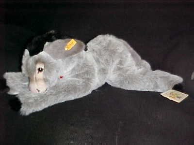 """21"""" Steiff Molly Esel Donkey Plush Toy With Tags Number 101458"""