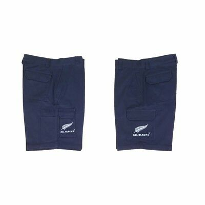 New Zealand All Blacks Workwear Navy Cargo Shorts size XL 97