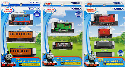 Tomix 93810 93811 93812 Thomas & Friends Thomas & Percy & James Set  (N scale)