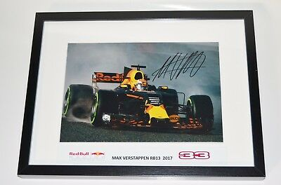 Max Verstappen > Winter Test 2017 - signed / framed (30/40)