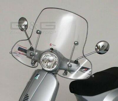 Screen Windscreen with Mot Report Abe PIAGGIO VESPA LX 50 125 150