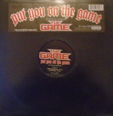 "THE GAME - Put You On The Game ~ 12"" Single US PRESS"