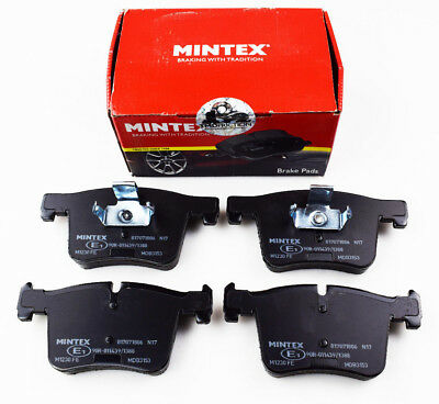 BRAKEBOX PADS DISCS FRONT FOR ROVER 75 TOURER 1999-2005 BRAND NEW MINTEX