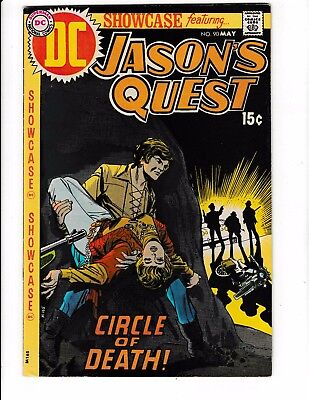 SHOWCASE #90 (VF+) 3rd Appearance of JASON'S QUEST! High Grade! Early Bronze-Age