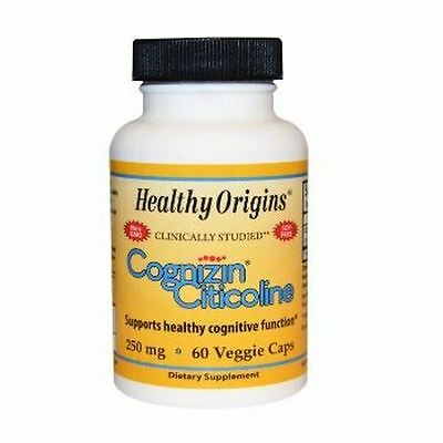 Citicoline, 250mg x 60 Capsules - Healthy Origins  MEMORY,