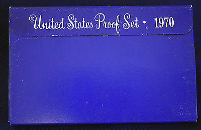 1970-s  U.S.Proof set. Genuine. complete and original as issued by US Mint.