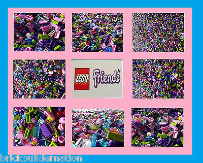 ☀️500+ GIRL FRIENDS NEW LEGO LEGOS PARTS PIECES FROM HUGE BULK LOT tiny DETAIL