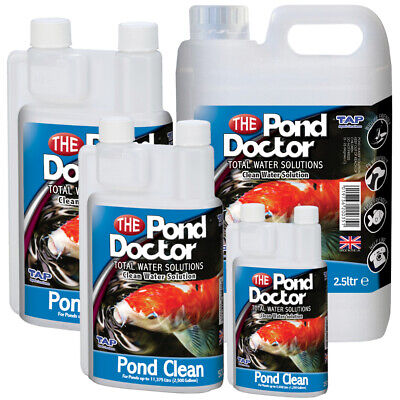 Pond Doctor Pond Clean Water Treatment TAP Fish Waste Nitrate Ammonia Removal