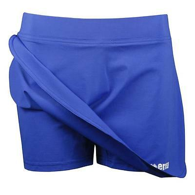 Errea Ros Miniskirt Skort - Blue. Netball Volleyball Tennis Racquet sports Gym,