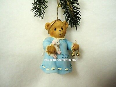 Cherished Teddies Ornament 2006 Dated Bell, Joyful Are The Sounds...  NIB