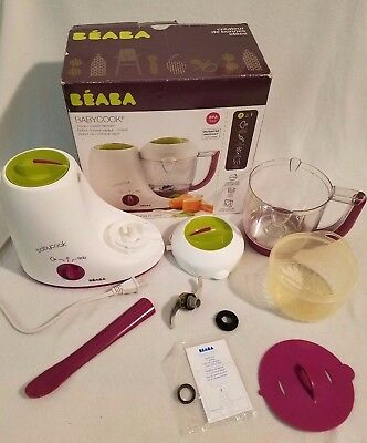 BEABA Original Babycook Replacement Parts Green Maroon Classic Purple Gipsy
