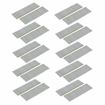 124mm Length 304 Stainless Steel T38 Brad Nail Silver Tone 1600pcs