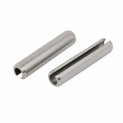 M10x50mm 304 Stainless Steel Split Spring Dowel Tension Roll Pin 2pcs