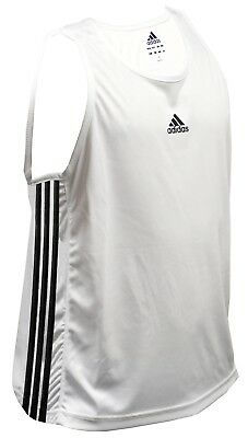 SPECIAL OFFER - Adidas Base Punch Boxing Vest - White