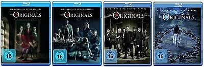 The Originals Staffel 1-4 (1+2+3+4) Blu-ray Set NEU OVP