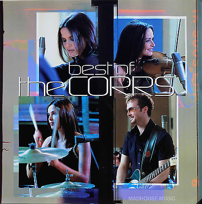 "The CORRS Display CARD The Best Of The Corrs UK PROMO Rare 12"" x 12"" Poster"