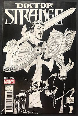 Marvel Doctor Strange #1 Quesada 1:150 Variant Sketch Cover