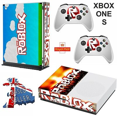 ADIDAS WHITE & Black Xbox One S (Slim) *Textured Vinyl