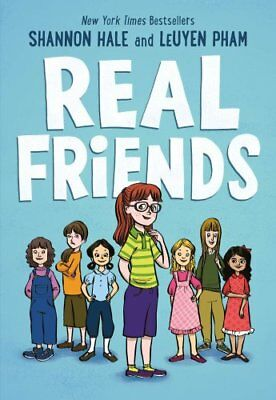 Real Friends by LeUyen Pham, Shannon Hale (Paperback, 2017)