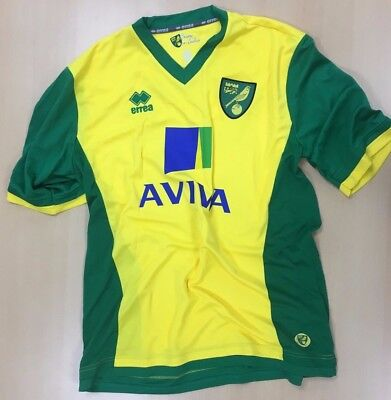 Official Norwich City Fc Replica Child Shirts - Ex Display