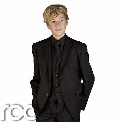 Boys Black Suit, Prom Suits, Page Boy Suits, Boys Wedding Suits, Boys Suits