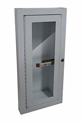 Sandusky Buddy Products Semi Recessed Fire Extinguisher Cabinet (8012-9) New
