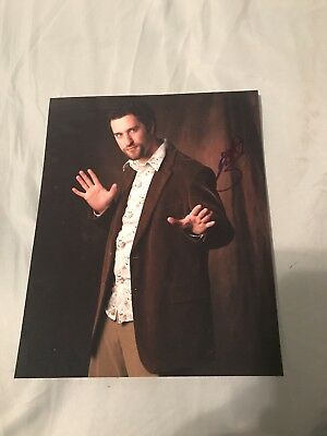 Dustin Diamond Signed 8X10 Photo Screech Saved By The Bell W/Coa+Proof Rare Wow